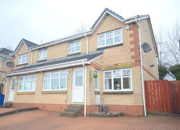 Thumbnail 3 bed semi-detached house for sale in Bute Drive, Old Kilpatrick, Glasgow