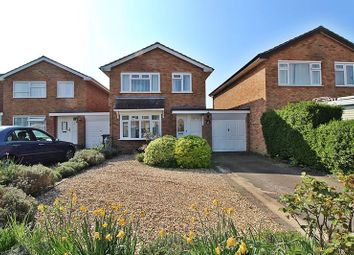 Thumbnail 4 bed detached house for sale in Flexmore Way, Langford, Biggleswade
