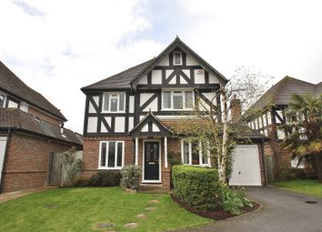 Thumbnail 4 bed detached house for sale in Donnafields, Bisley, Woking