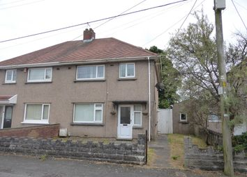 Thumbnail 3 bedroom semi-detached house for sale in Bryneinon Road, Gorseinon, Swansea