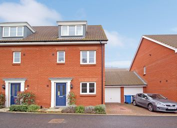 Thumbnail 4 bed town house for sale in Ellisons Crescent, Ipswich