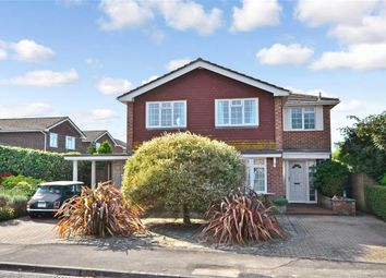 Thumbnail 5 bed detached house for sale in Newport Drive, Chichester, West Sussex