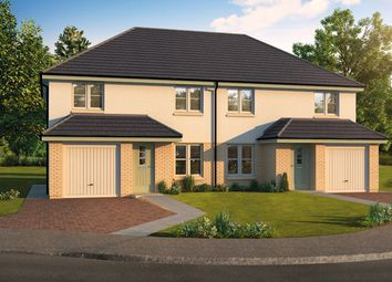 Thumbnail 3 bedroom semi-detached house for sale in The Pentland, Kenneth Place, Dunfermline