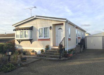 Thumbnail 2 bed mobile/park home for sale in Grayshott Drive, Poplars Court, Bognor Regis