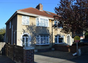 Thumbnail Semi-detached house for sale in Shaftesbury Road, Milton, Weston-Super-Mare