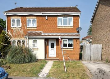 Thumbnail 3 bed semi-detached house for sale in 58 Meadow Croft, Edenthorpe, Doncaster, South Yorkshire