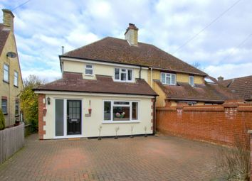 Thumbnail 3 bed semi-detached house for sale in Newton Road, Little Shelford, Cambridge