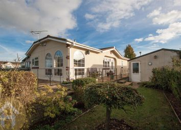 Thumbnail 2 bed mobile/park home for sale in Lillybrook Estate, Lyneham, Chippenham