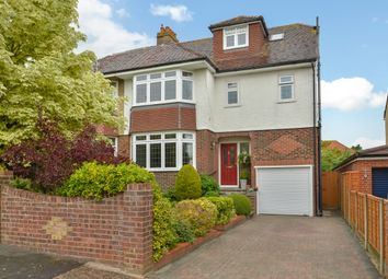 Thumbnail 5 bed semi-detached house for sale in Brecon Avenue, Drayton, Portsmouth