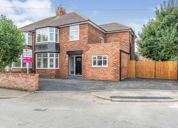 Thumbnail 4 bed semi-detached house for sale in Rectory Gardens, Wheatley, Doncaster