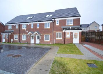Thumbnail 3 bed end terrace house for sale in Paterson Walk, Motherwell