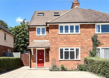 Thumbnail 4 bed semi-detached house for sale in Beech Grove, Guildford, Surrey