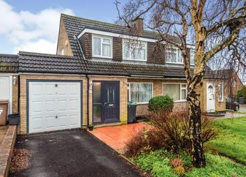 Thumbnail 3 bed semi-detached house for sale in Ketton Close, Luton, Bedfordshire, England