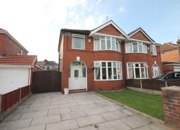 Thumbnail 3 bed semi-detached house for sale in Pangbourne Avenue, Urmston, Manchester