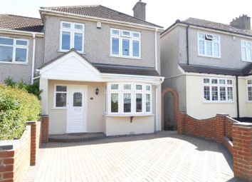 Thumbnail 3 bed semi-detached house for sale in Orchard Avenue, Upper Belvedere, Kent