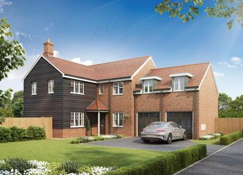 """Thumbnail 5 bed detached house for sale in """"The Oxford"""" at Minchens Lane, Bramley, Tadley"""