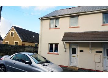Thumbnail 2 bed end terrace house for sale in George Street, Milford Haven