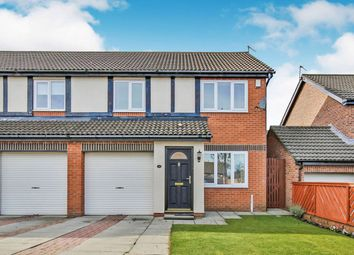 Thumbnail 3 bed semi-detached house for sale in Perrycrofts, Sunderland, Tyne And Wear