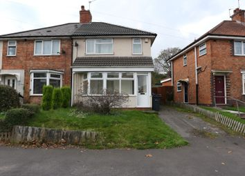 Thumbnail 3 bed semi-detached house to rent in Sandmere Road, Birmingham