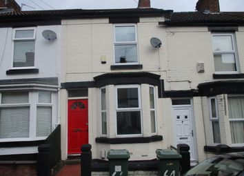 Thumbnail 1 bed terraced house to rent in Woodville Road, Birkenhead