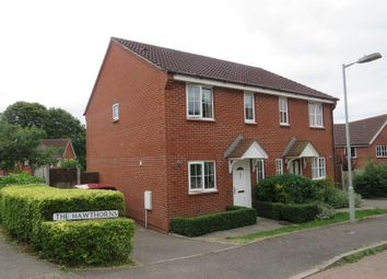 Thumbnail 3 bed semi-detached house for sale in The Hawthorns, Turner Close, Sudbury