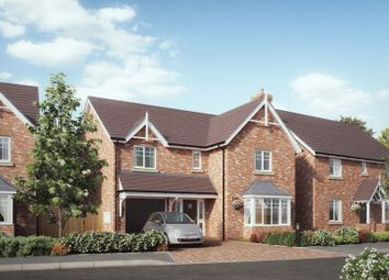 Thumbnail 4 bedroom detached house for sale in The Westminster, Chetwynd Mere, Off Chetwynd Road, Newport