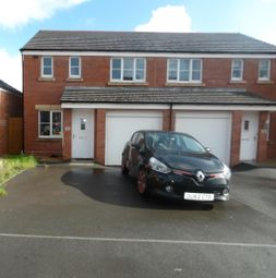 Thumbnail 3 bed semi-detached house for sale in Clos Y Coed Castan, Coity, Bridgend