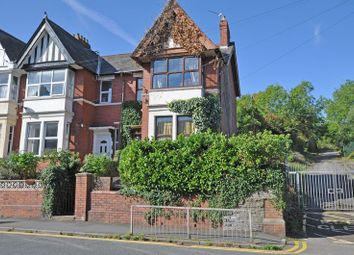 Thumbnail 4 bedroom end terrace house for sale in Substantial Period House, Queens Hill, Newport