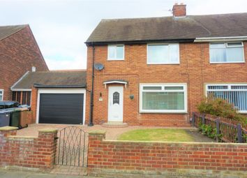 Thumbnail 3 bed semi-detached house for sale in Perth Gardens, Wallsend