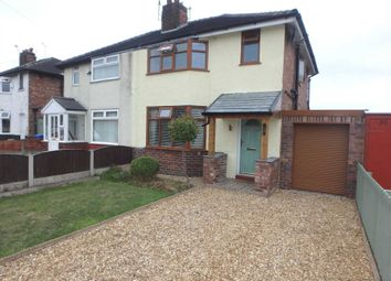Thumbnail 3 bed semi-detached house for sale in Grange Drive, Penketh, Warrington