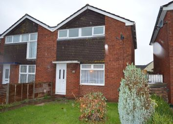 Thumbnail 3 bed semi-detached house for sale in Mead Vale, Worle, Weston-Super-Mare