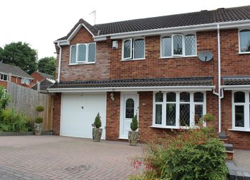 Thumbnail 4 bed semi-detached house for sale in Nightingale, Wilnecote, Tamworth