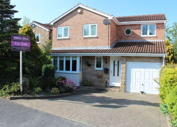 Thumbnail 4 bed detached house for sale in Merbeck Drive, High Green, Sheffield