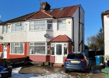 Thumbnail 4 bed semi-detached house to rent in Twyford Road, Harrow