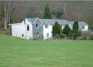 Thumbnail 4 bed terraced house for sale in Bryncrug, Tywyn, Gwynedd
