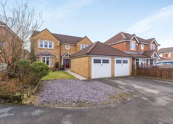 Thumbnail 4 bed detached house for sale in Morley Croft, Farington Moss, Leyland