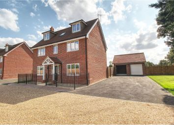 Thumbnail 5 bed detached house for sale in Cootes Lane, Fen Drayton, Cambridge