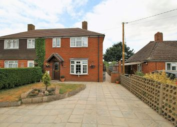 Thumbnail 3 bed semi-detached house for sale in Windmill Road, Towersey, Thame