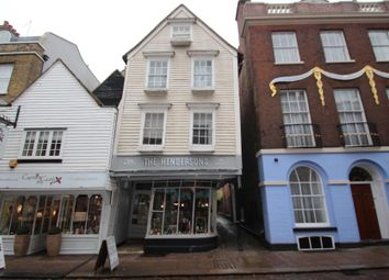 Thumbnail Property to rent in High Street, Rochester