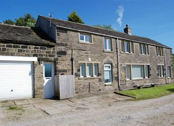 Thumbnail 4 bed detached house for sale in Hollins Lane, Slaithwaite, Huddersfield