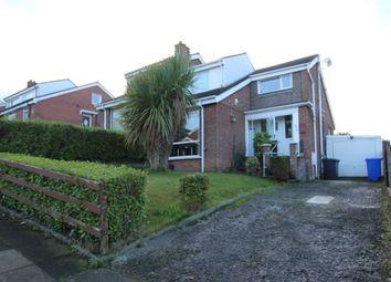 Thumbnail 3 bedroom semi-detached house for sale in Clandeboye Way, Bangor