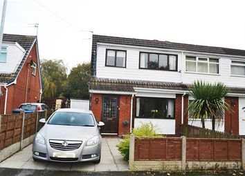 Thumbnail 3 bed semi-detached house for sale in Woodley Grove, Leigh