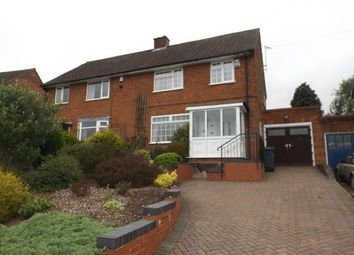 Thumbnail 3 bed semi-detached house for sale in Long Mynd Road, Birmingham, West Midlands
