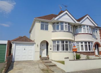 Thumbnail 3 bed semi-detached house for sale in Central Drive, North Bersted, Bognor Regis