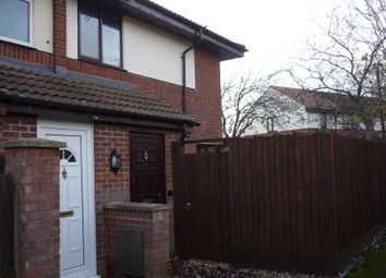Thumbnail 2 bed end terrace house to rent in Hepleswell, Two Mile Ash, Milton Keynes