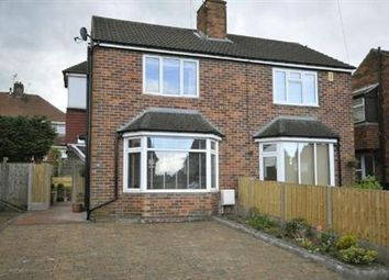 Thumbnail 2 bed semi-detached house to rent in Darwin Avenue, Newbold, Chesterfield