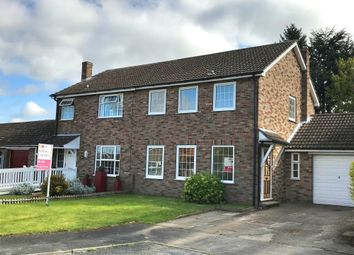 Thumbnail 3 bed semi-detached house to rent in The Hawthorns, Riccall, York