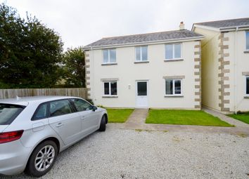 Thumbnail 4 bed detached house to rent in Church Road, Shortlanesend, Truro