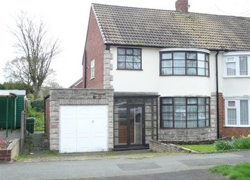 Thumbnail 3 bedroom semi-detached house for sale in Wootton Avenue, Wednesfield, Wednesfield