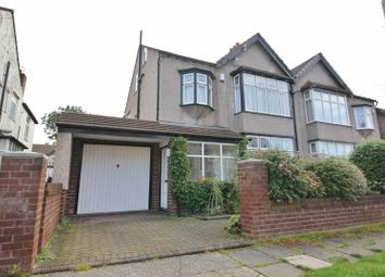 Thumbnail 5 bed semi-detached house for sale in Lynmouth Road, Aigburth, Liverpool